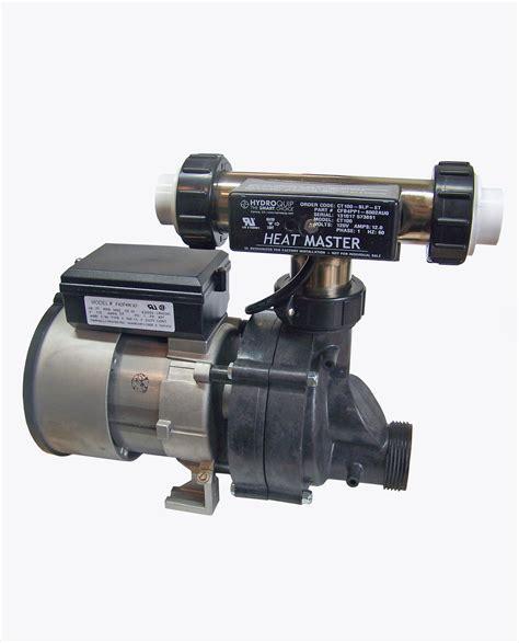 bathtub pump whirlpool bathtub jet pump heat master tee heater system