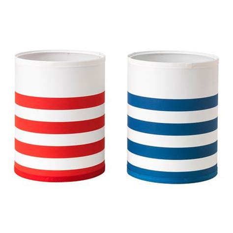 red and white striped l shade ikea l shade red white blue white stripes new ebay