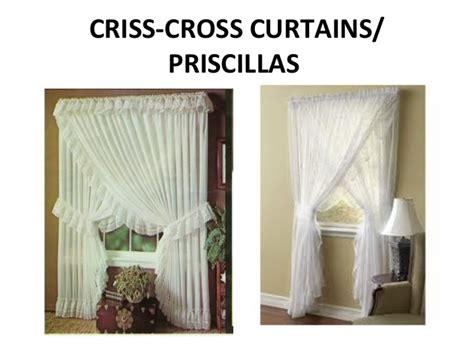 Criss Cross Curtains Window Treatment