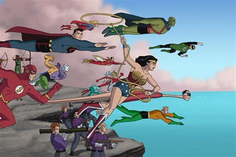 justice league new frontier film is the new frontier the best superhero movie ever made