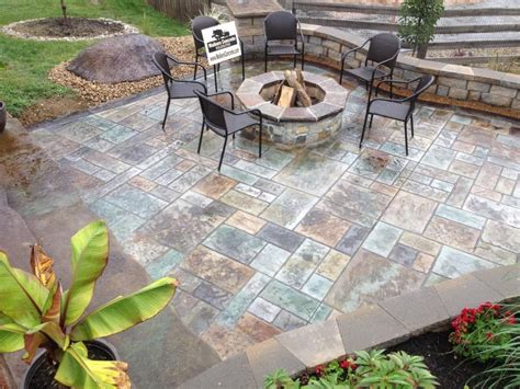 concrete patio designs with pit pictures of concrete patio ideas with pit