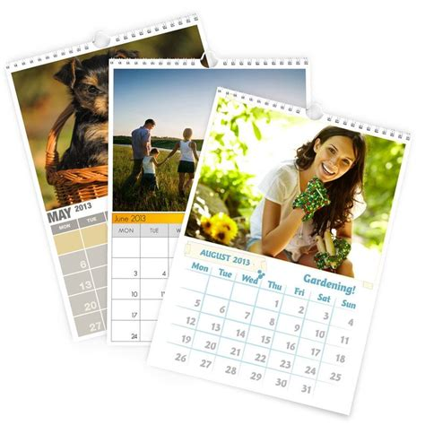 how to make a personalized calendar with photos free personalized custom photo calendars make your own autos post