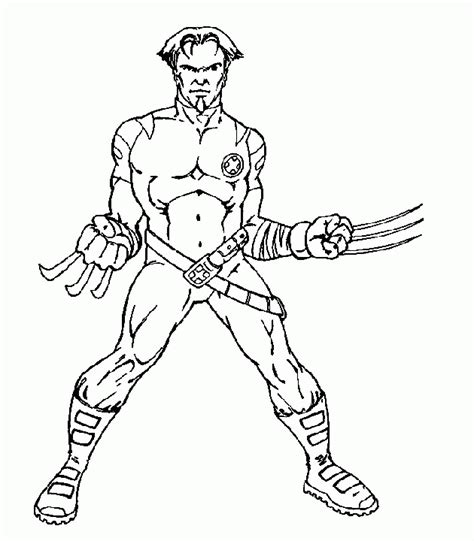x men coloring pages coloringpages1001 com