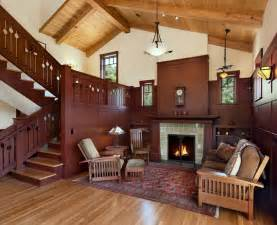 Homes Interiors And Living Vintage House Interior Design With Fireplace And Wall Clock Decor Ideas House
