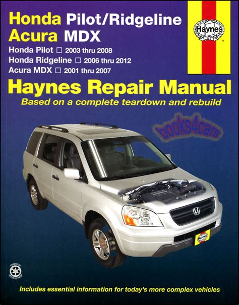 car engine manuals 2007 acura tl free book repair manuals shop manual service repair book haynes chilton honda pilot ridgeline acura mdx ebay