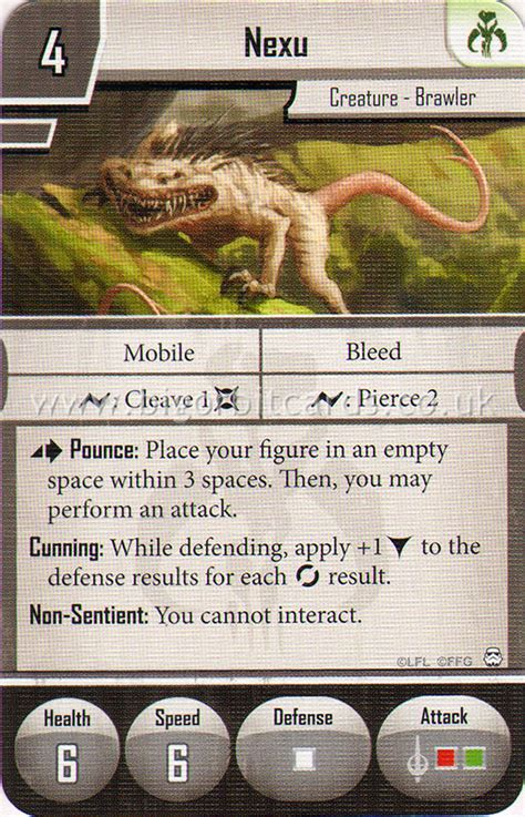 wars imperial assault deployment card template nexu deployment card deployment card wars