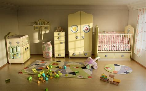 Parquet Pour Chambre 3058 by Baby Room By Osman Safi 3dtotal