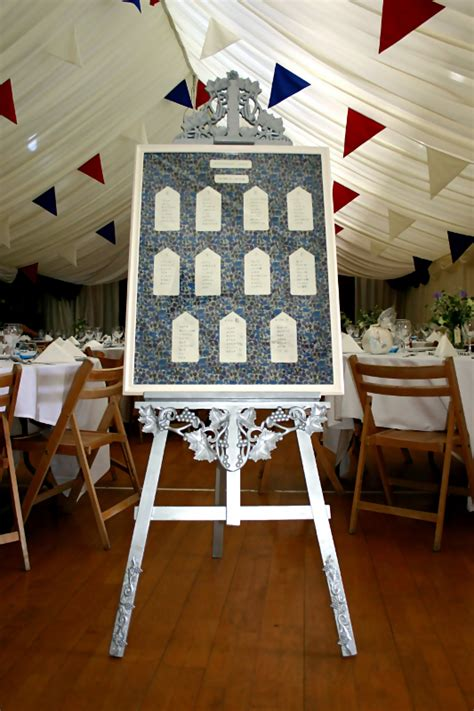 wood table plan easel for weddings pdf plans