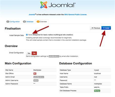 template joomla wiki install quickstart package joobi