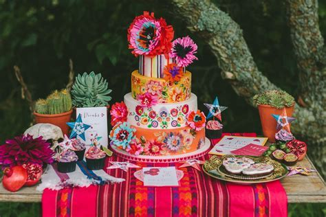 Día de los Muertos styled wedding shoot   Wedding