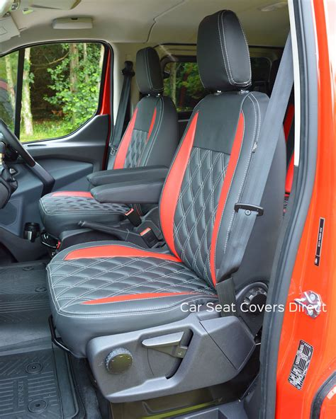 custom ford seat covers ford transit custom sport crewcab tailored seat covers car