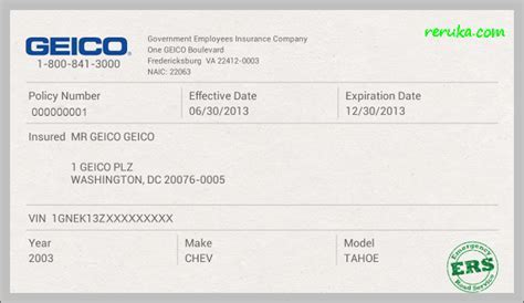 Aarp Auto Insurance Quote Aarp Car Insurance Quote QUOTES OF THE - Fake geico insurance card template