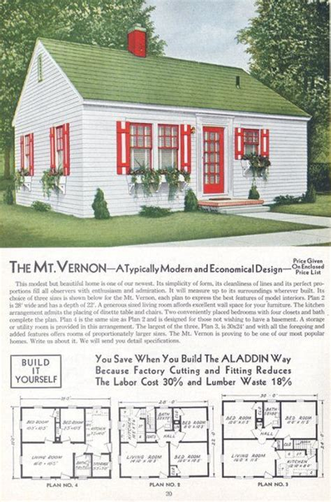 1940s house plans 1940 s kitchens aladdin house plans and retro renovation