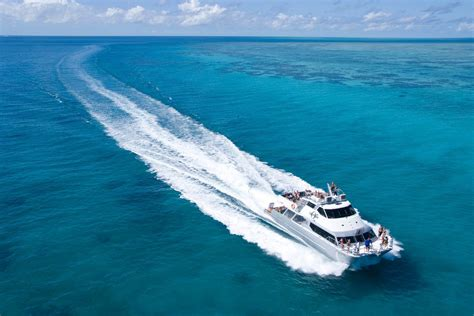buoy boat barrier great barrier reef now open ocean magazine