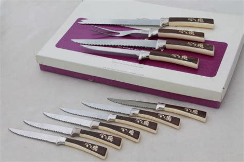sheffield kitchen knives vintage sheffield steel carving knives steak knives set frozen food knife