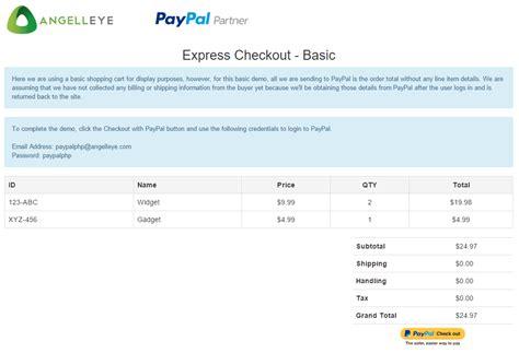 codeigniter tutorial shopping cart codeigniter paypal integration express checkout basic