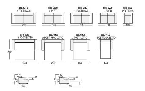 dimensioni divano letto best misure divano letto photos home design joygree info
