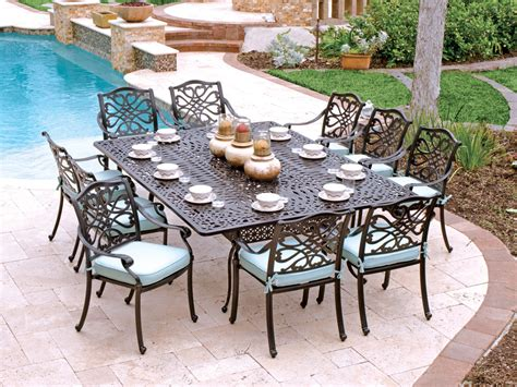 Aluminum Outdoor Patio Furniture How To Take Care Of Cast Aluminum Patio Furniture The Homy Design