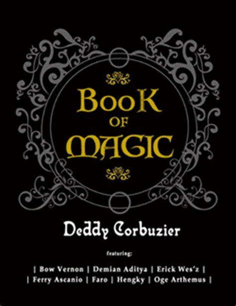 Book Of Magic By Deddy Corbuzier black jade magic entertainment magazine launching book