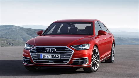 Audi A8 Rot by 2018 Audi A8 Debuts Packed With Future Facing Tech The Drive