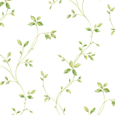 Norwall Watercolor Leaves Wallpaper KC28550   The Home Depot