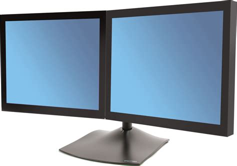 ergotron ds100 dual monitor desk stand horizontal skroutz gr