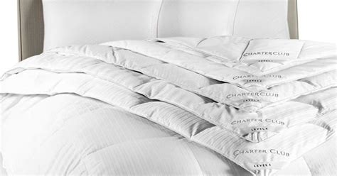 charter club level 3 down comforter closeout charter club vail level 3 european white down