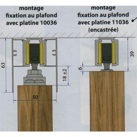 Montage Rail Plafond by Rail Haut Saf 40 Ou Saf 80 Pour Porte Coulissante Mantion