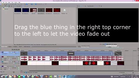 tutorial edit video sony vegas tutorial how to edit the intro template blender sony