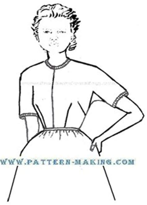 pattern making kimono sleeve drafting kimono sleeve pattern making com