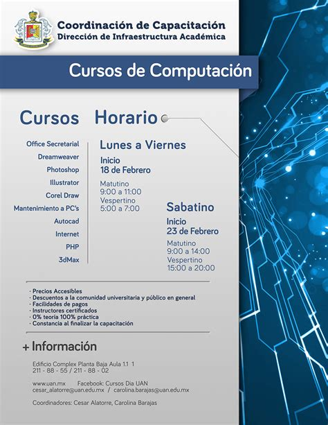cursos de computacion a distancia cursos de computacion uan 2013 grcom info