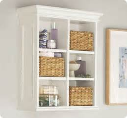 Decorative Bathroom Storage Wall Shelving Unit