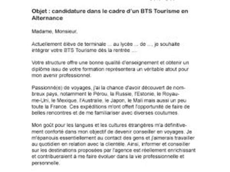Lettre De Motivation Office De Tourisme Lettre De Motivation Bts Transport Logistique Alternance Par Lettreutile