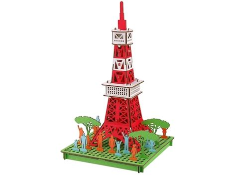 Paper Craft Japan - japan trend shop pusu pusu tokyo tower paper craft model