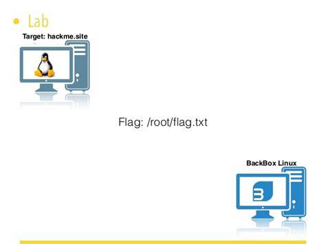 simulazione test ctf backbox linux simulazione di un test e ctf
