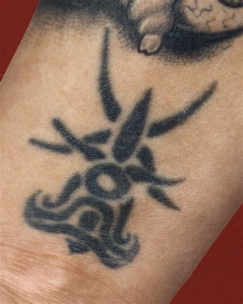 tribal wrist tattoo russia
