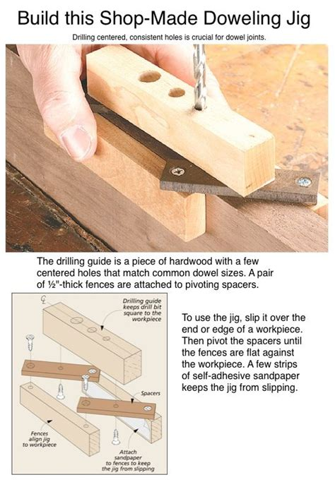 shop made woodworking jigs build this shop made doweling jig woodworking