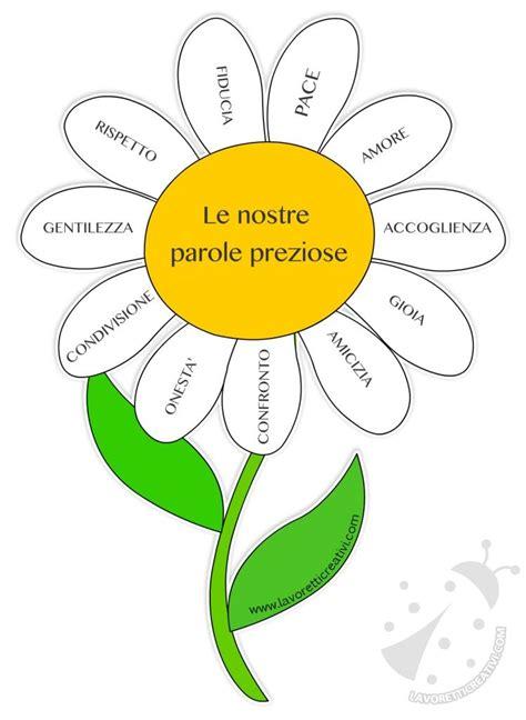 il fiore scuola primaria fiore con le parole preziose