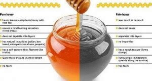 how to check the purity of honey and separate real from