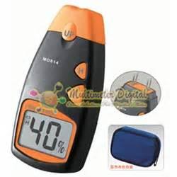 Digital Moisture Meter 4 Pin Pengukur Kelembaban 4 Pins Kayu Tembok Dl alat mengukur kelembaban kayu wood moisture meter md814 4