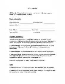 tutor contract template dj contract template free microsoft word templates