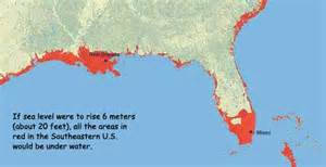 how rising sea levels will affect us miami and new