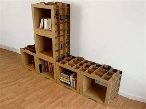 membuat rak buku dinding dari barang bekas rak buku minimalis dari bahan kardus prelo blog tips