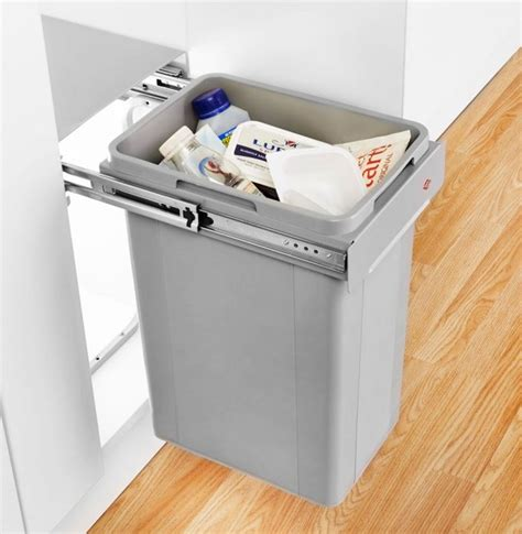 In Cupboard Bins by Wesco Bio Single Pull Out Bin 32l 300mm Door