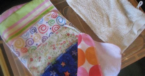 Handmade Baby Wipes - home baby wipes