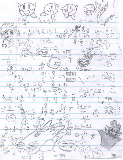 how to doodle in math math and doodle randomness by herointraining on deviantart