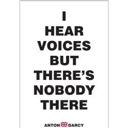 I Voices In My Specificly There Are T by Antondarcy Free Posters In A Pdf File Designed By