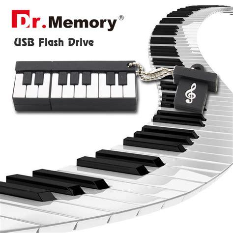 Flash Disk Piano 16gb usb flash drive fashion piano usb flash 2 0 memory drive stick pen thumb pendrive 4gb 8gb