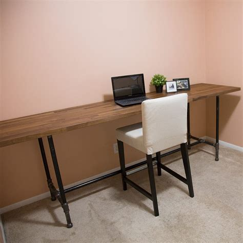 how to make a pipe desk how to build a pipe desk the family handyman