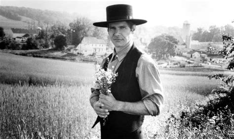 Harrison Ford Amish by Harrison Ford Witness Amish Hat Flowers And